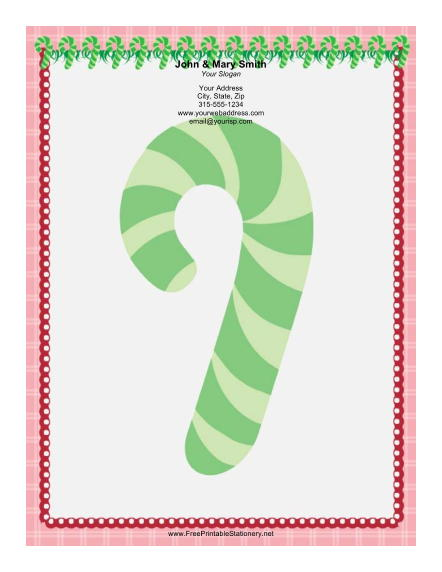 Candy Canes Red Green Christmas Dinner Invitation By | Apps ...