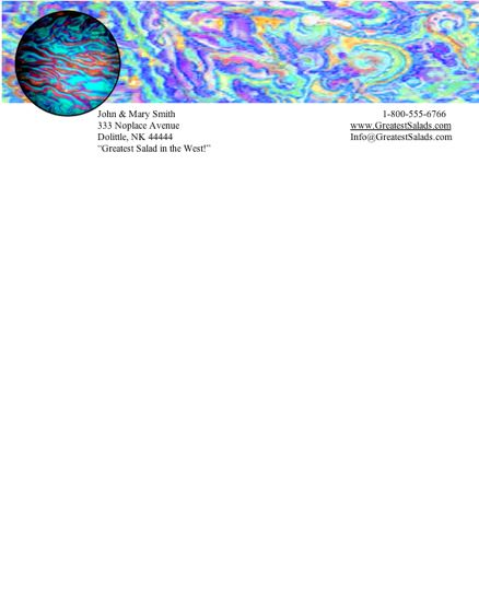 Abstract 11 Stationery