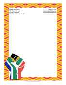 Black History Month Stationery