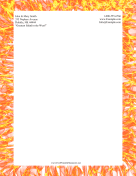 Flame Stationery